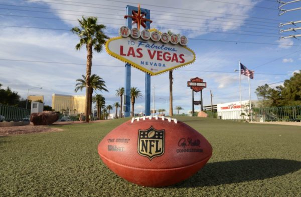 The Raiders are moving to Las Vegas. What a time. (Kirby Lee/USA Today Sports)