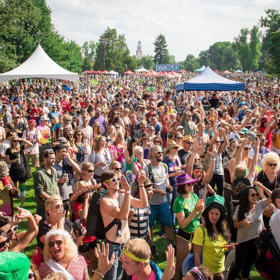 New Belgium Brewing Co.'s annual Tour De Fat festival. (Courtesy of New Belgium)