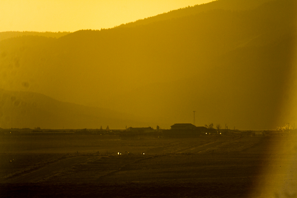 Sunset over Questa, New Mexico. (Kevin J. Beaty)  new mexico; road trip; travel; kevinjbeaty; denverite;