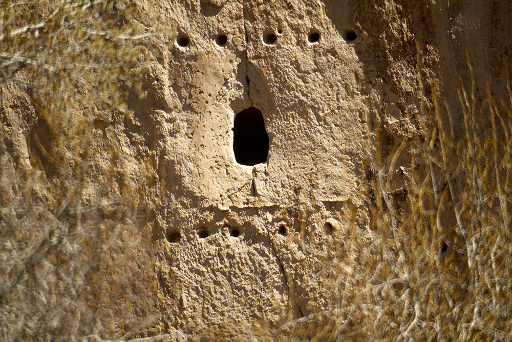Cliff dwellings at Bandelier National Monument. (Kevin J. Beaty)  new mexico; road trip; travel; kevinjbeaty; denverite;