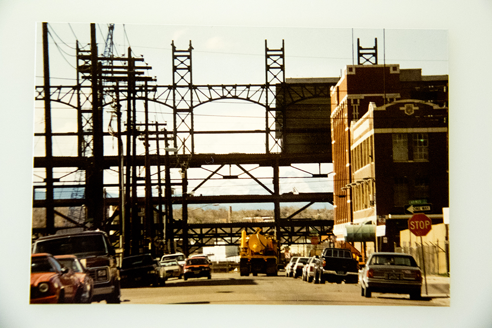 Once upon a time (1993), you could see the mountains down 21st Street. (Denver Public Library/Western Hisory Collection/Karle Seydel Papers)  baseball; coors field; sports; denver; colorado; denverite; denver public library;