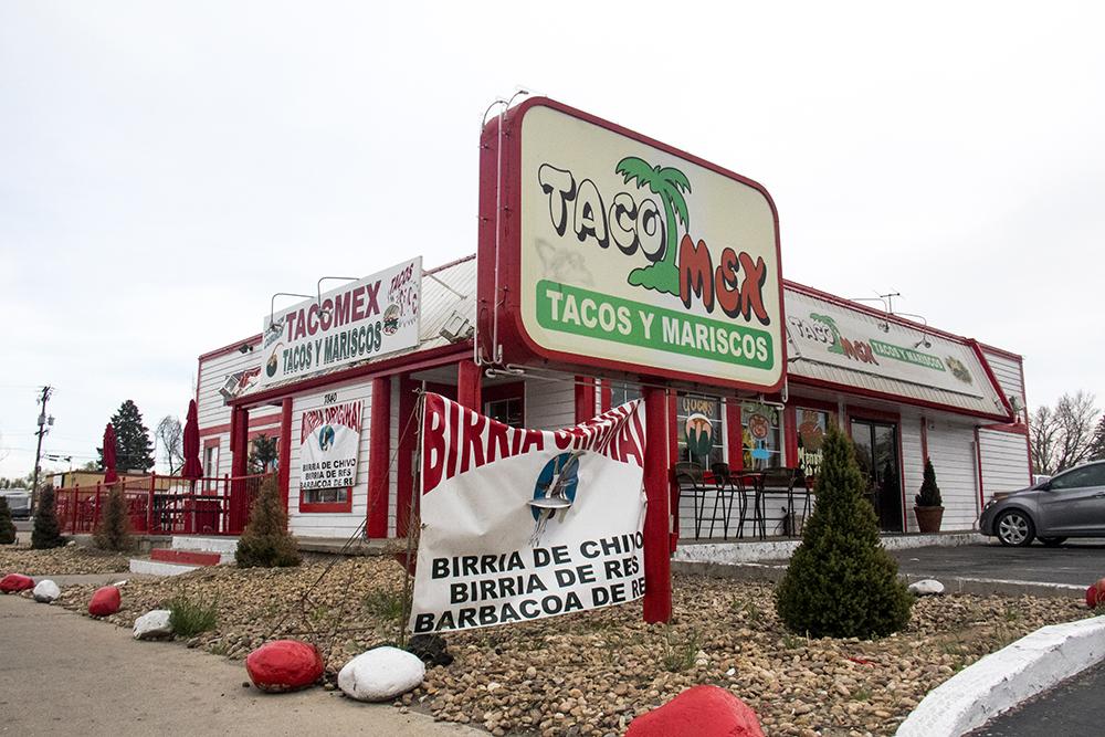 Taco Mex on Colfax Ave. at Trenton St. (Kevin J. Beaty/Denverite)  food; restaurant; kevinjbeaty; denver; denverite; colorado; colfax;