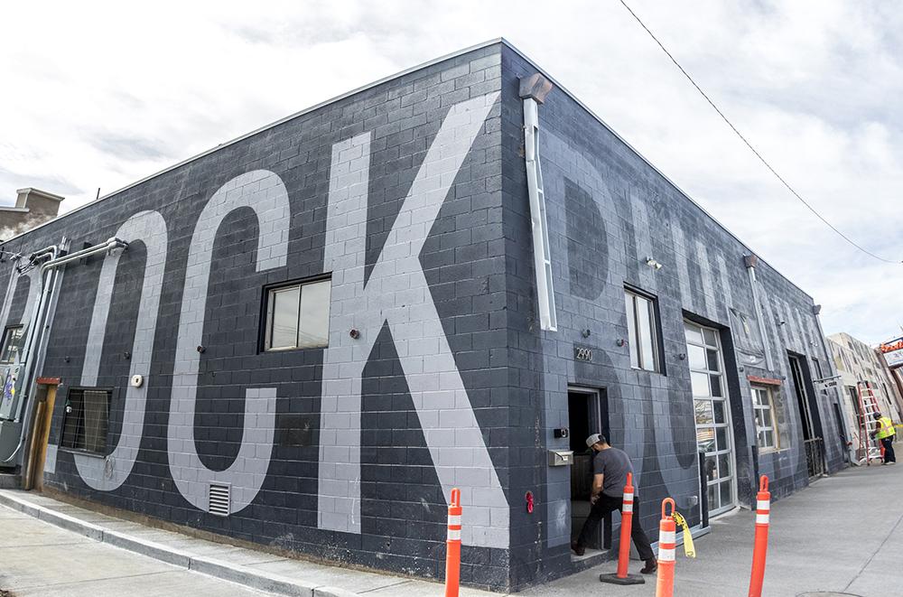 The future site of the Block Distilling Co. on Larimer Street, RiNo, April 18, 2017. (Kevin J. Beaty/Denverite)  five points; rino; block distilling company; food; development; nightlife; denver; colorado; kevinjbeaty; denverite