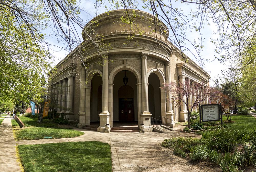 The Althea Center for Engaged Spirituality. (Kevin J. Beaty/Denverite)  althea center; church; cheesman park; denver; colorado; kevinjbeaty; denverite;