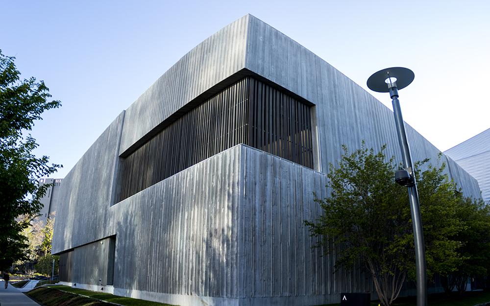 The Clyfford Still Museum. (Kevin J. Beaty/Denverite)  denver; colorado; kevinjbeaty; denverite; civic center; clyfford still museum;