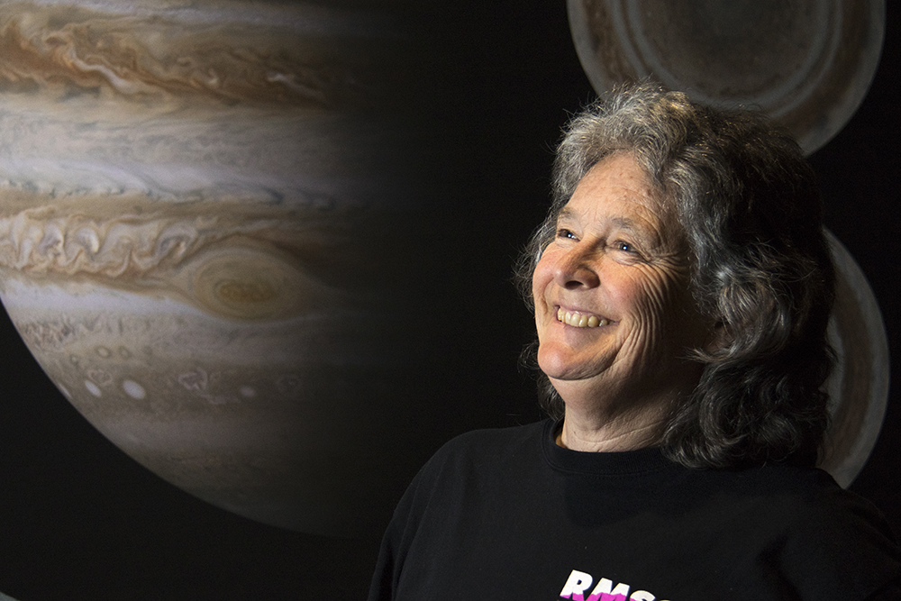 A portrait of Fran Banegal. (Kevin J. Beaty/Denverite)  cu; university of colorado; boulder; science; scientist; space; denverite; colorado; kevinjbeaty;