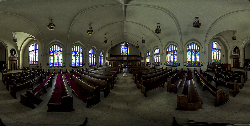 St. Paul's Lutheran Church on Grant Street in North Capitol Hill. (Kevin J. Beaty/Denverite)