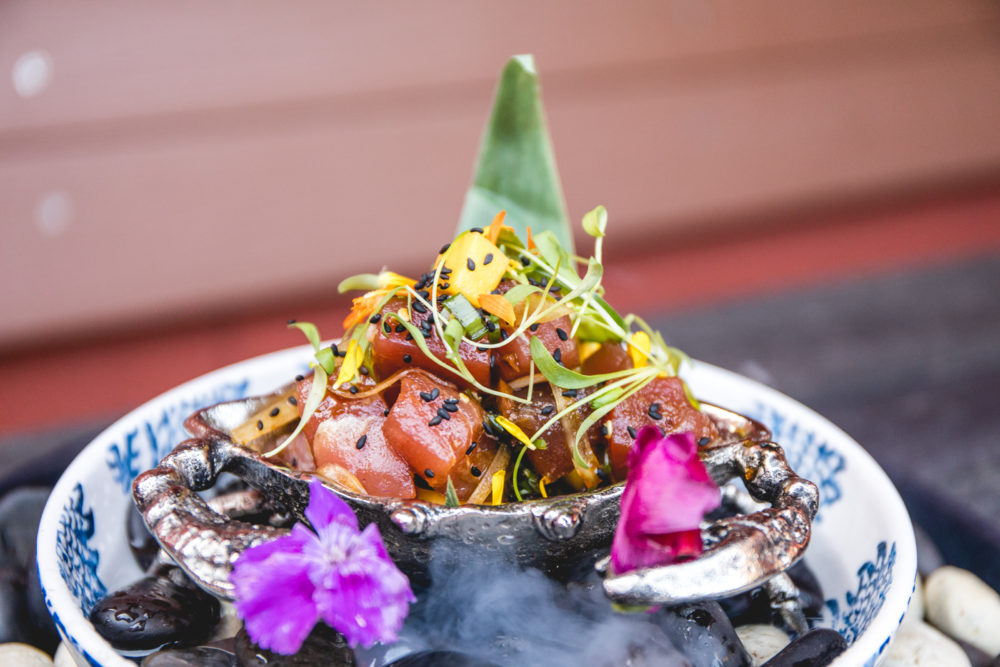 The poké bowl at Adrift. (Courtesy of B Public Relations)