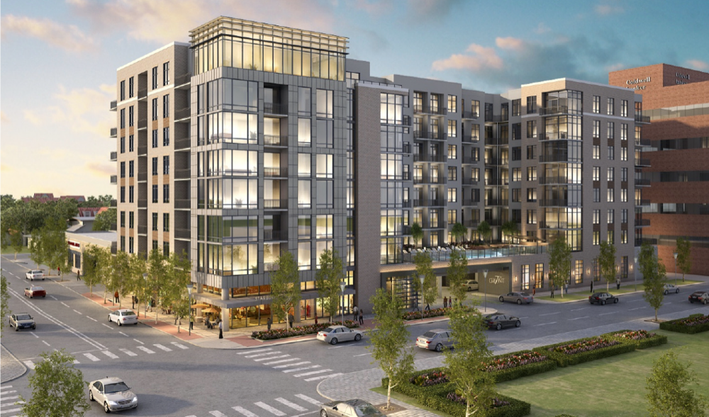 A residential project slated for an area near Seventh Avenue and Grant Street. (Courtesy of TDC)
