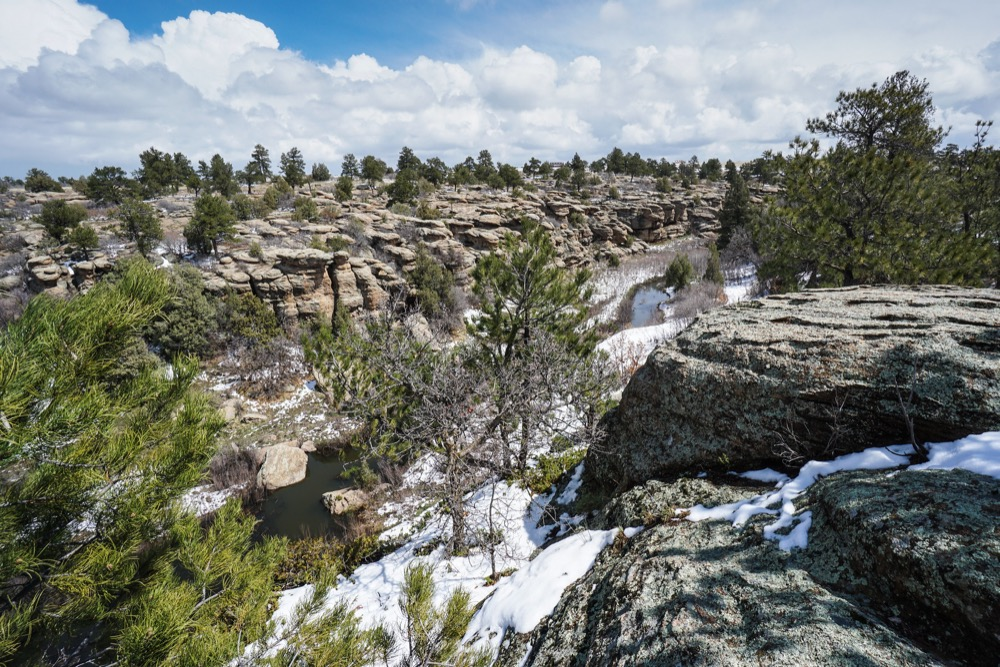 Castlewood Canyon. (Courtesy Stephen Simon, GoHikeColorado.com)