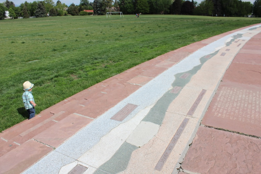The terrazzo panorama at Cranmer Park. (Courtesy The Park People)
