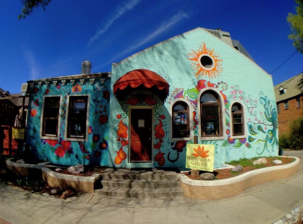 Govinda's Garden Café. (Kevin J. Beaty/Denverite)