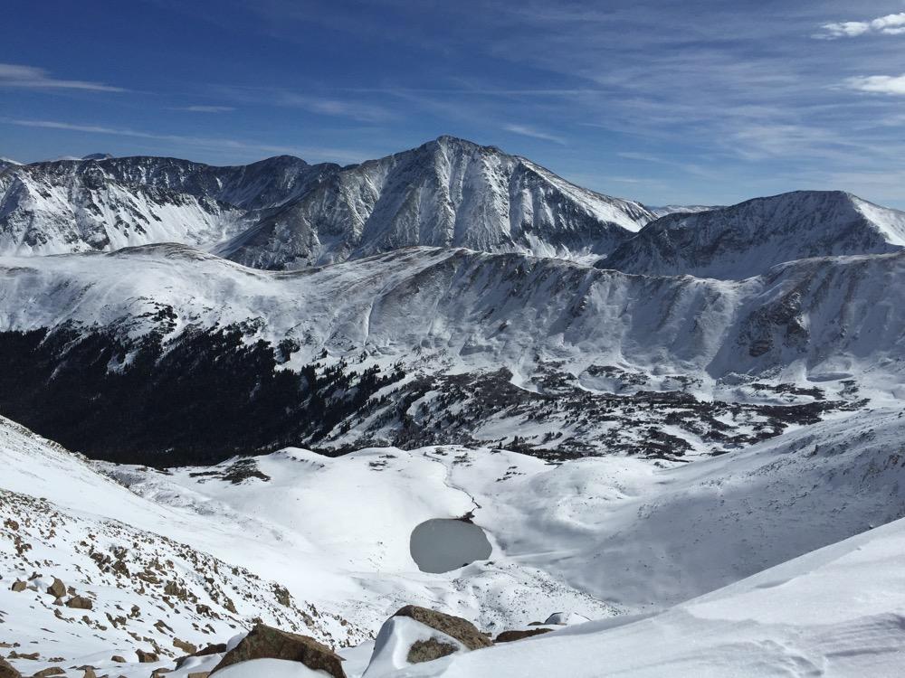 The view of Torreys Peak from Mount Sniktau. (Courtesy Jeff Golden/Colorado Mountain Club)