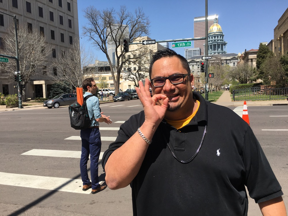 Miguel Lopez. (Andrew Kenney/Denverite)