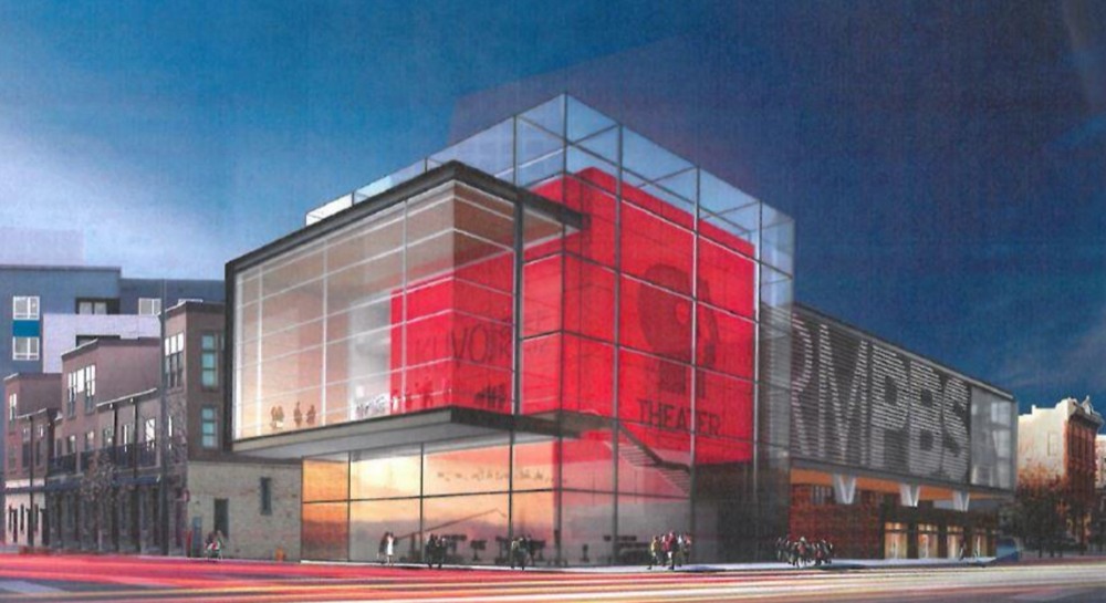 The proposed new Rocky Mountain PBS building. (Courtesy Photo)