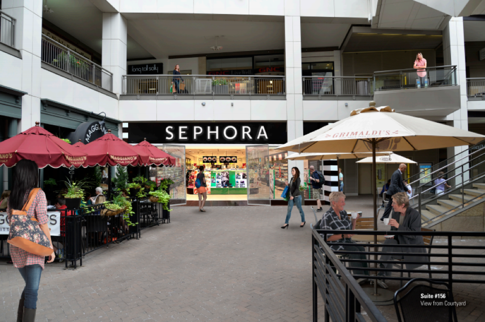 A rendering of the Sephora store slated to open on the 16th Street Mall. (Courtesy of the Denver Pavilions)