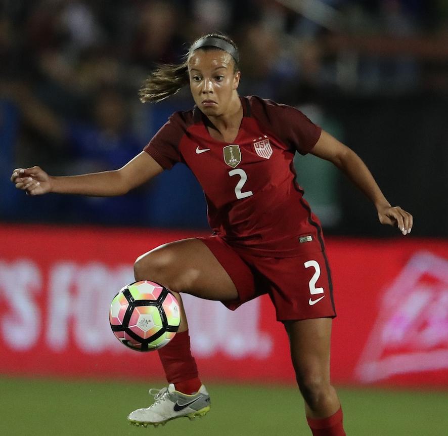 Mallory Pugh will reportedly turn pro. (Matthew Emmons/USA Today Sports)