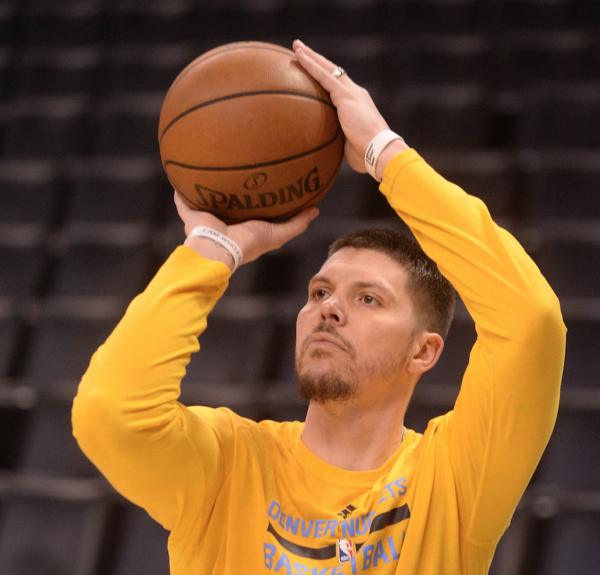 Mike Miller gets to control the Denver Nuggets' locker room music — but only on Wednesdays. (Mark D. Smith/USA Today Sports)