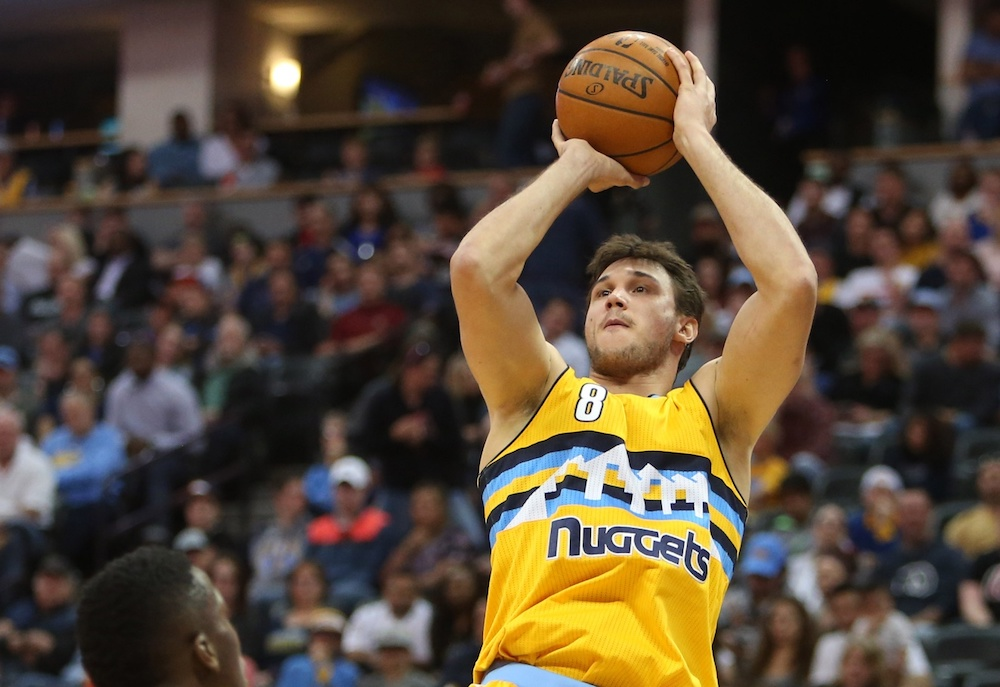 Danilo Gallinari has the chance to test the free agency waters this summer. (Chris Humphreys/USA Today Sports)