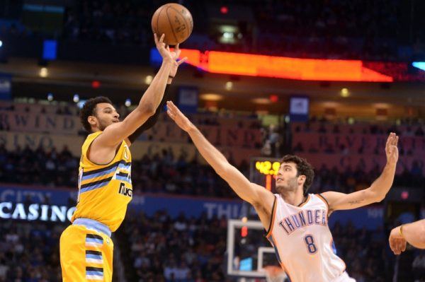 Jamal Murray is having surgery Thursday morning to repair an undisclosed injury. (Mark D. Smith/USA Today Sports)