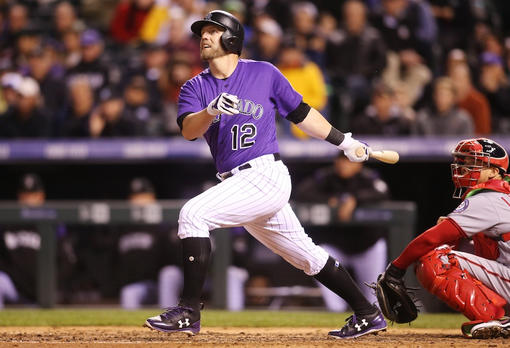 Mark Reynolds says a different mentality has contributed to his hot start. (Isaiah J. Downing/USA Today Sports)
