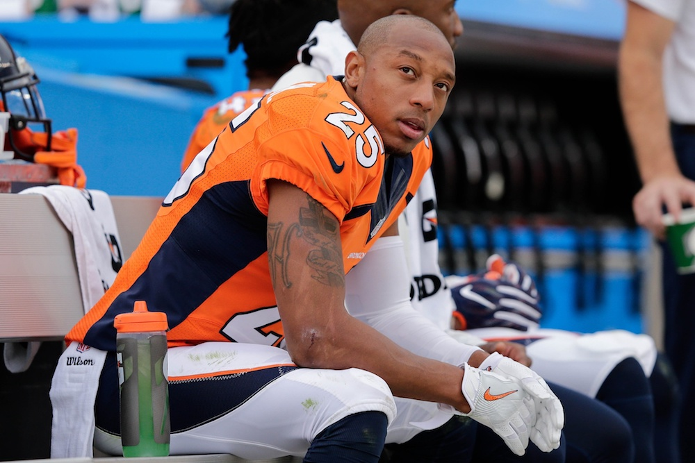 Chris Harris Jr. hinted that he'd like to see Denver draft a certain all-purpose player from Stanford in the upcoming NFL draft. (Isaiah J. Downing/USA Today Sports)