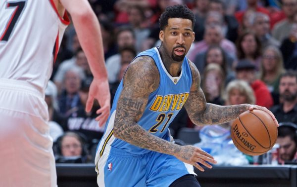 Wilson Chandler brought up a good point about Pepsi. (Craig Mitchelldyer/USA Today Sports)