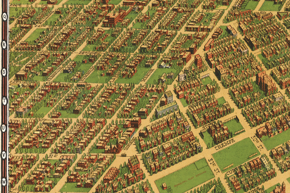 Whittier at left, edge of Five Points at right, Mestizo-Curtis Park copy
