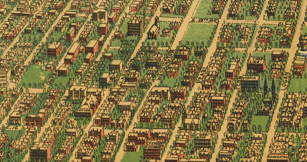East Colfax circa 1908. (Library of Congress)