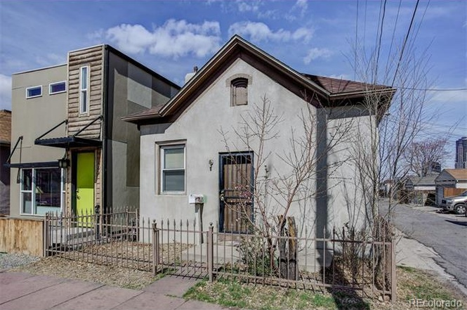 The exterior of xx, listed at $290,000, according to Redfin. (Courtesy of Redfin)