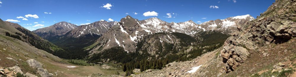The view on the way up Mt. Massive. (Ashley Dean/Denverite)