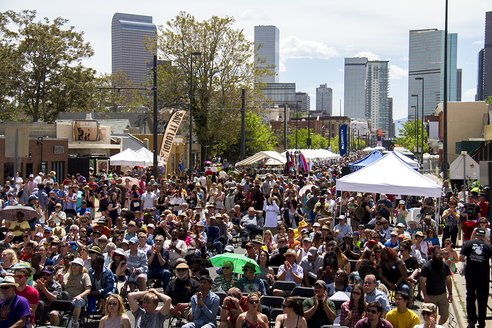 The Five Points Jazz Festival, May 21, 2016. (Kevin J. Beaty/Denverite)