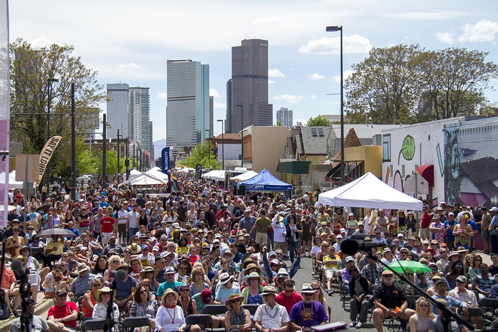 The Five Points Jazz Festival, May 21, 2016. (Kevin J. Beaty/Denverite)