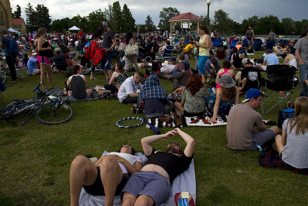 Jazz at City Park, June 5, 2016. (Kevin J. Beaty/Denverite)