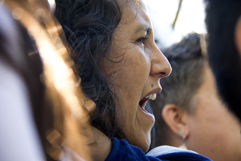 Jeanette Vizguerra leaves sanctuary, May 12, 2017. (Kevin J. Beaty/Denverite)  immigration; denverite; jeanette vizguerra; deportation; kevinjbeaty; undocumented; denver; colorado;
