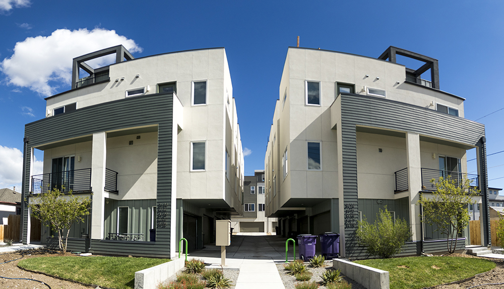 "A ""slot"" development on 18th Avenue in West Colfax. (Kevin J. Beaty/Denverite)"
