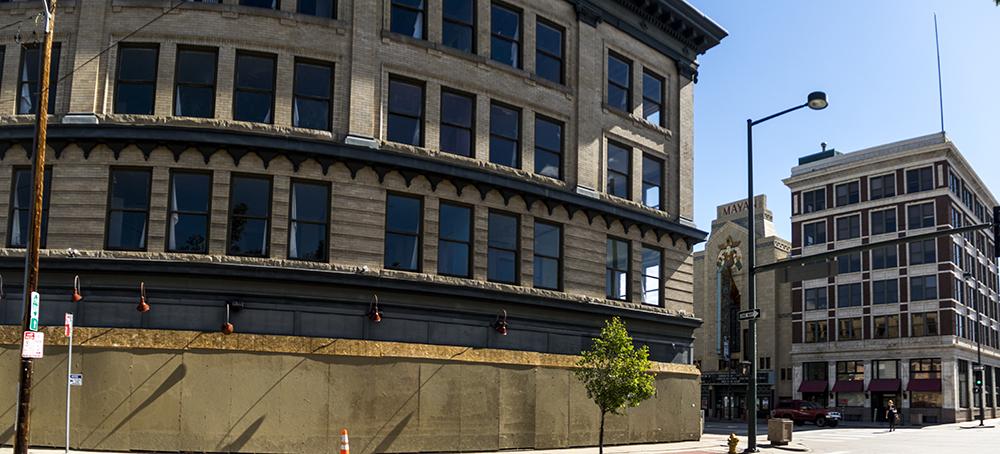 101 N. Broadway. (Kevin J. Beaty/Denverite)  development; broadway; baker; kevinjbeaty; denverite; colorado; denver;