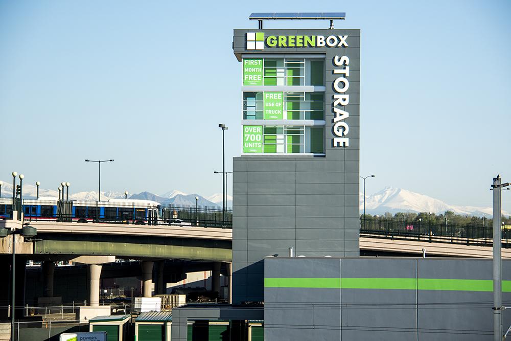 Greenbox Self Storage, 2424 Delgany Street. (Kevin J. Beaty/Denverite)