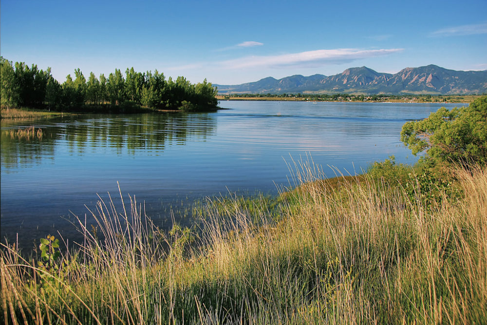 Boulder Reservoir. (Richard Saxon/Flickr Creative Commons)
