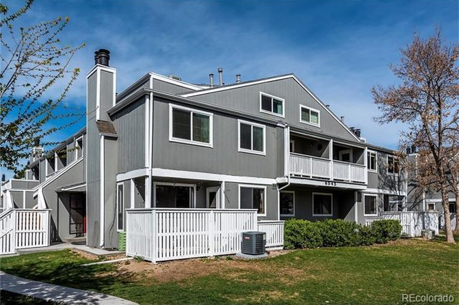 The exterior of 6545 East Arizona Avenue, #3. (Courtesy of Redfin)
