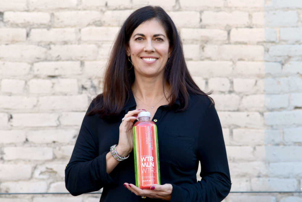 The former head of New Belgium Brewing Co. and current CEO of WTRMLN WTR, Christine Perich. (Courtesy of WTRMLN WTR)