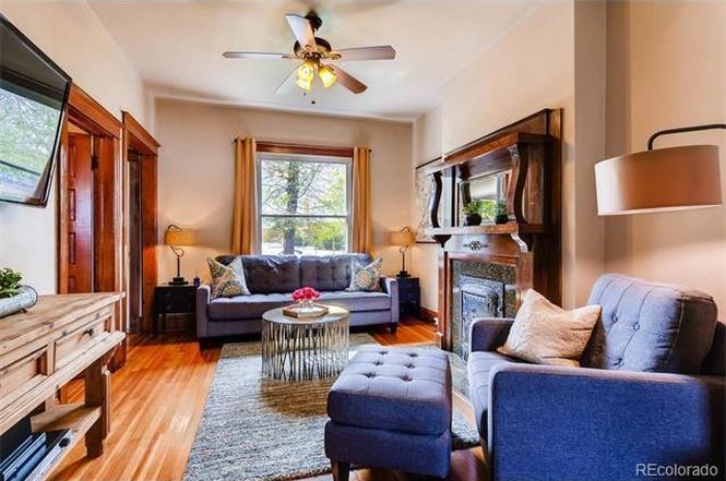 The interior of a $415,000 Denver home. Read on to see how it compared. (Courtesy of Redfin)