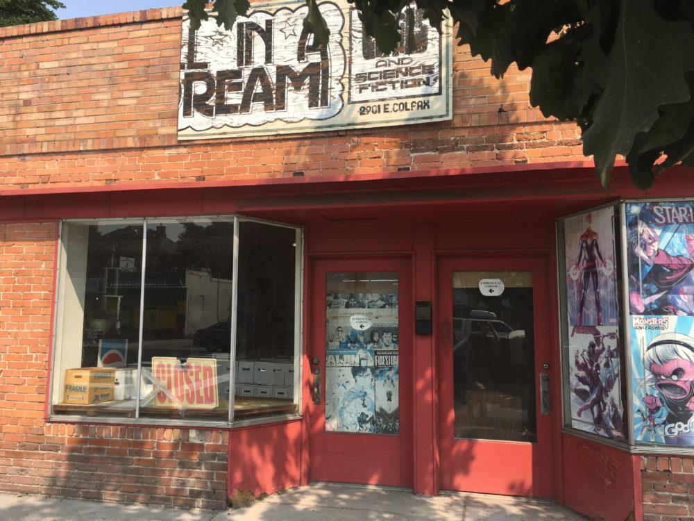 All in a Dream Comics. (Dave Burdick/Denverite)