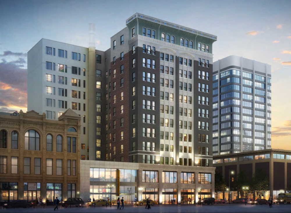 A project proposed for 910 16th St. (City and County of Denver)
