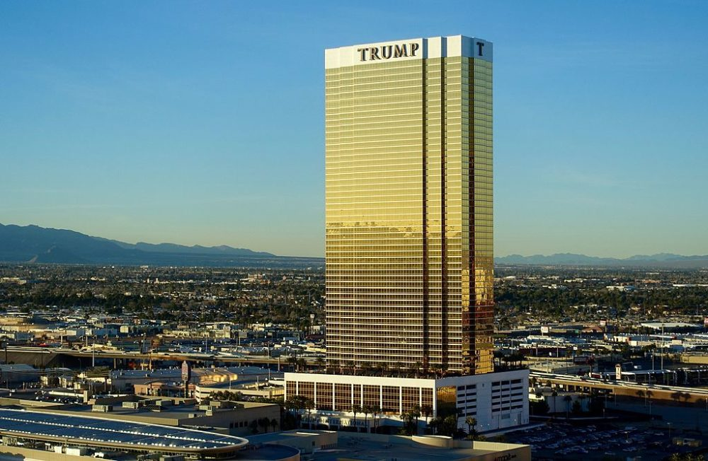 Trump International Hotel in Las Vegas. (Steve Jurvetson/Flickr/CC)