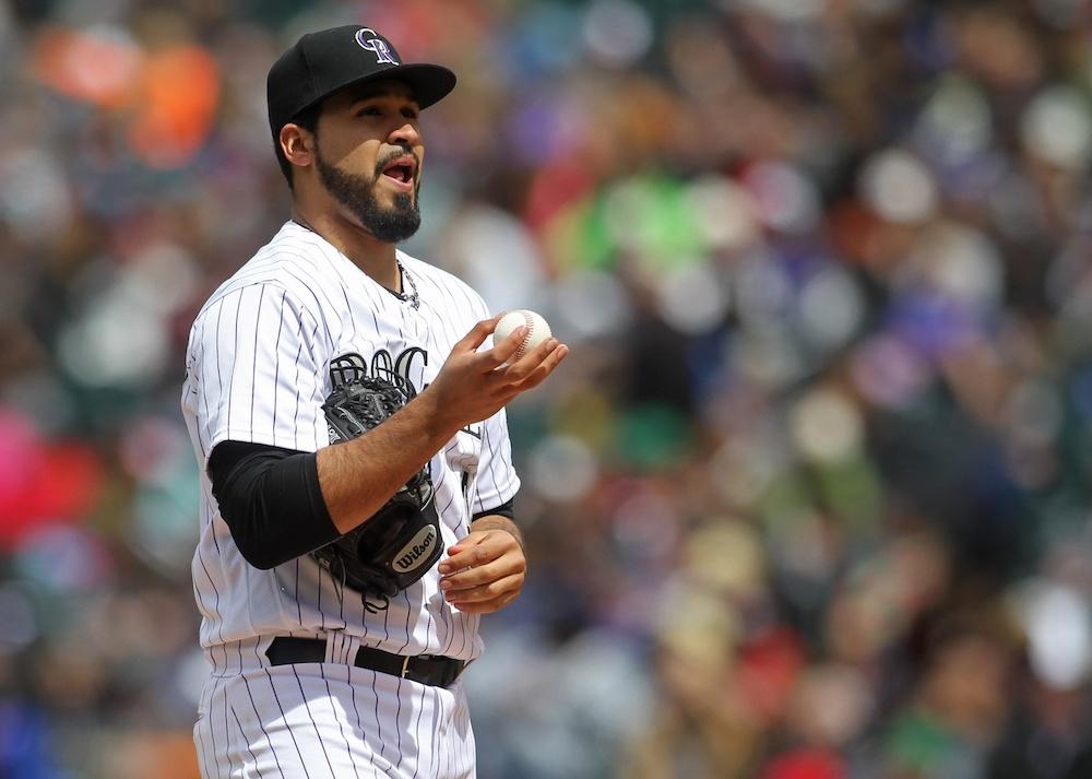 Antonio Senzatela has a 2.84 ERA six starts into his MLB career. (Chris Humphreys/USA Today Sports)