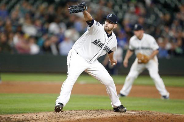 James Paxton retired 16 of the first 17 batters he faced Wednesday. (Joe Nicholson/USA Today Sports)