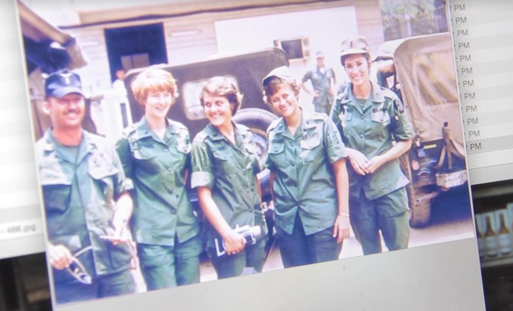 One photo from Patti Ehline's memories of her service in Vietnam. (Kevin J. Beaty/Denverite)