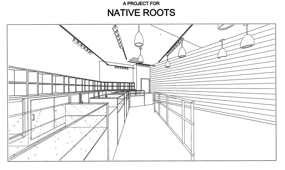Plans filed for a Native Roots project at 1905 Division Street. (Powers Brown Architecture/City of Denver)