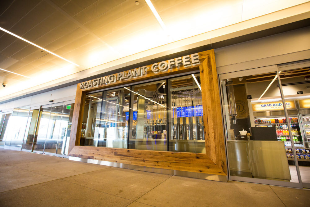 Roasting Plant Coffee. (Photograph provided courtesy of Denver International Airport)